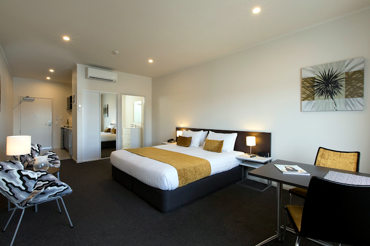 Bedroom at Quest Whangarei