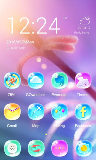 Dreamy Theme - ZERO Launcher