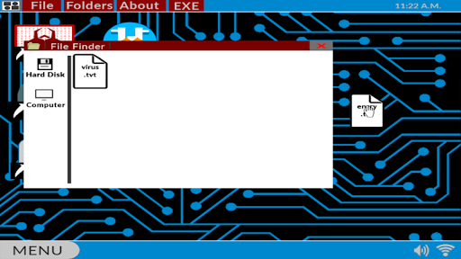 Hacker.exe - Mobile Hacking Simulator Free 1.6.0 de.gamequotes.net 1