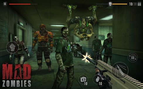MAD ZOMBIES MOD Apk 5.25.1 (Unlimited Money/Lives) 10