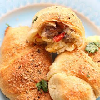 Breakfast Crescent Rolls.