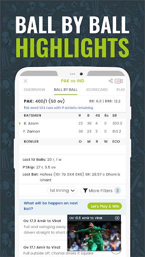 Cricingif - PSL 2019 Live Cricket Score screenshot