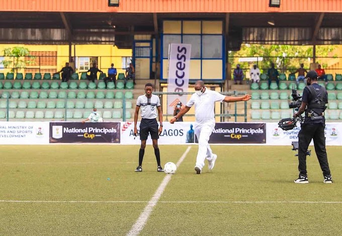 Sports minister declares National pricipal cup open