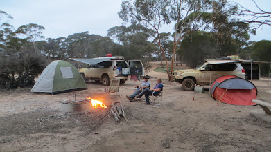 Photo: Camp within the breakaways