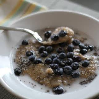 My Anti-Alzheimer's, Gluten and Dairy-Free Breakfast.