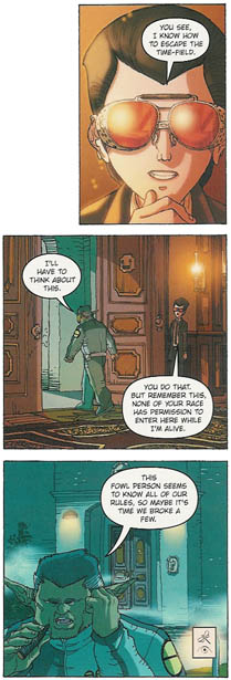 Most of all, I think Artemis Fowl: The Graphic Novel is a triumph for