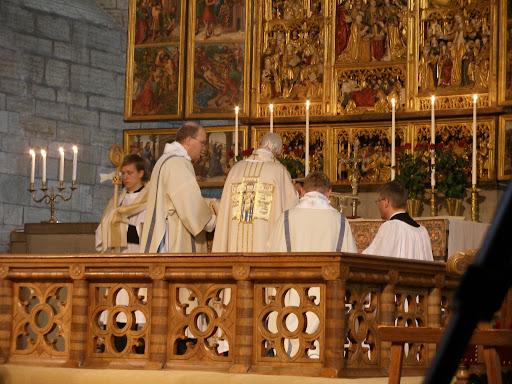 Biskop bertil gartner avliden