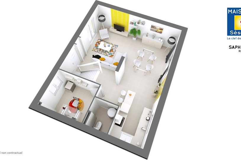 Vente Terrain + Maison - Terrain : - Maison : 120m² à Montévrain (77144)