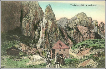 Photo: Cheile Tureniului - Moara veche - dela inceputul sec.XX  - sursa, postcards http://postcards.hungaricana.hu/hu/104950/ Facebook, S.P. https://www.facebook.com/photo.php?fbid=865173566889272&set=a.479758302097469.1073741832.100001899101978&type=1&theater  Facebook, R.C.