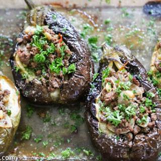 Stuffed Baby Eggplants