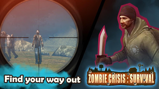 Zombie Crisis: Survival 2.3 APK MOD screenshots 1