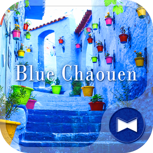 Beautiful Theme Blue Chaouen Icon