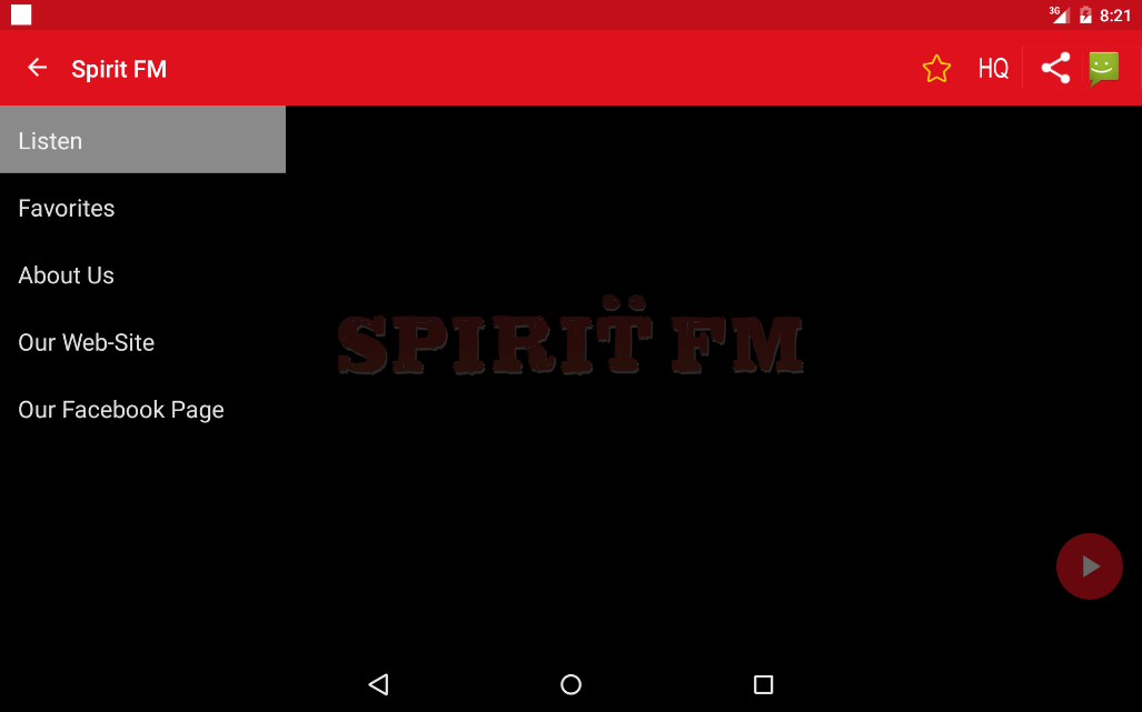 Spirit FM Helsinki- screenshot