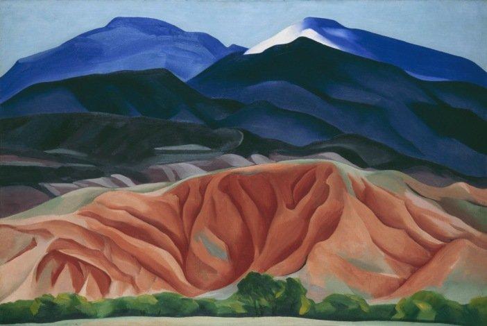 Georgia O'Keeffe,Black Mesa Landscape, New Mexico / Out Back of Marie's II1930