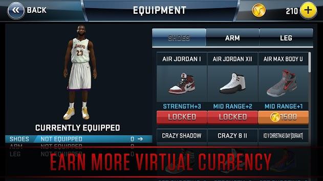 NBA 2K18 apk screenshot