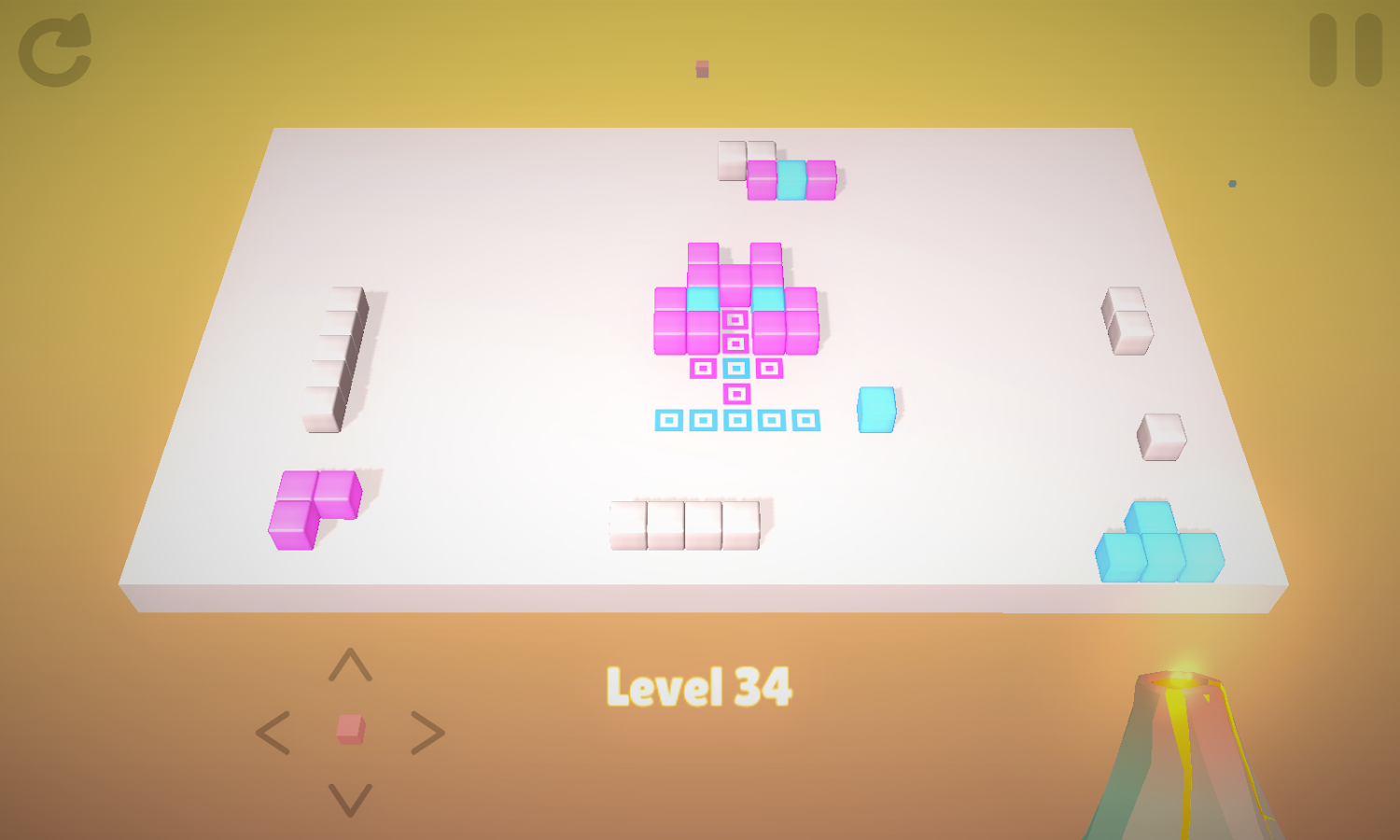 Cubes- screenshot