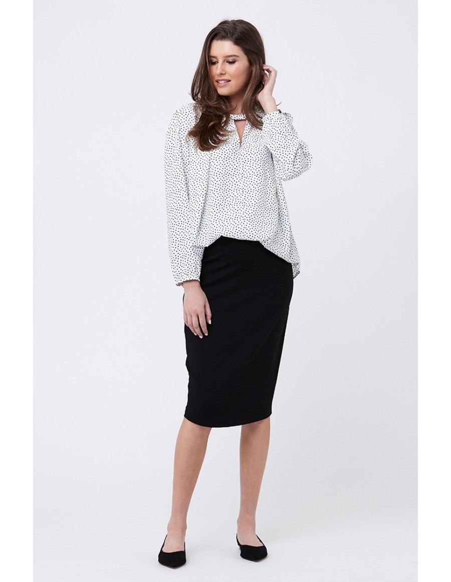 db6f6b1fd7797 ... work with your best maternity blouses and a pair of comfortable flats  or tall boots. They also work well at cradling your belly on special  occasions, ...
