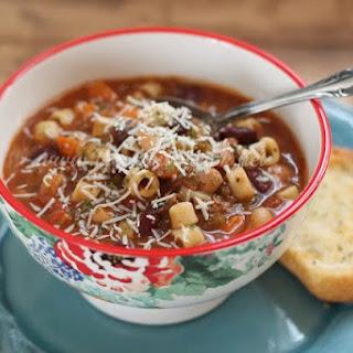 Crock Pot Olive Garden Pasta E Fagioli Soup.