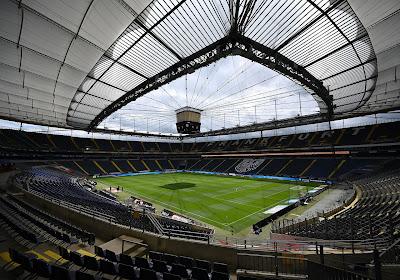 Les joueurs de l'Eintracht Francfort porteront une vareuse antiraciste en demi-finale de la Coupe d'Allemagne