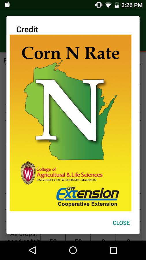 N Rate Corn N Rate Calculator...