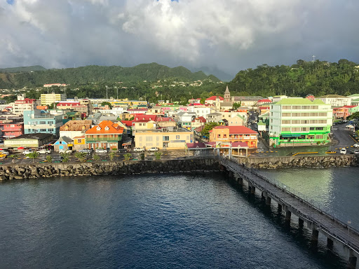 Roseau-waterfront.jpg - The waterfront of Roseau, capital of Dominica.