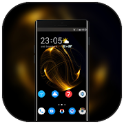 Theme for Elephone A4 Pro wire mesh wallpaper icon
