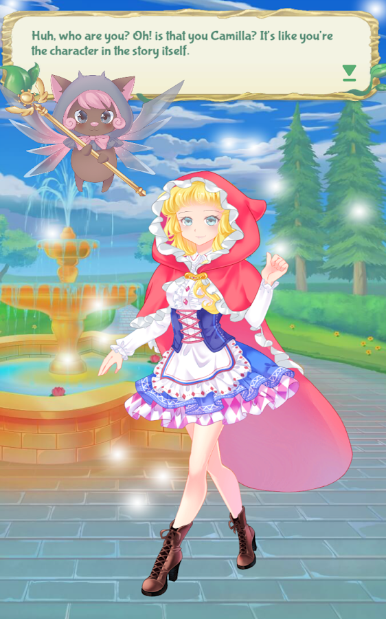 Magical Stories: Fairy Tale Anime Dress Up Girls- screenshot