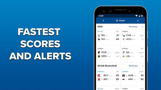 CBS Sports App - Scores, News, Stats & Watch Live screenshots 3