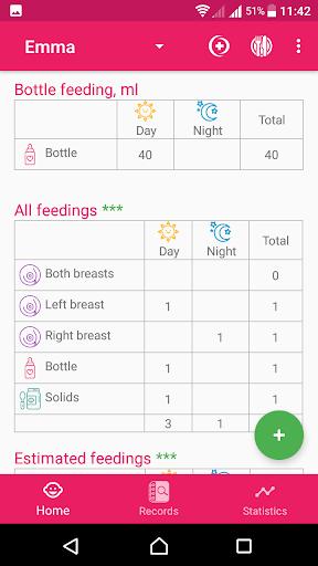 BabyAppy: breastfeeding, sleep and diapers tracker 1.37 Screenshots 8