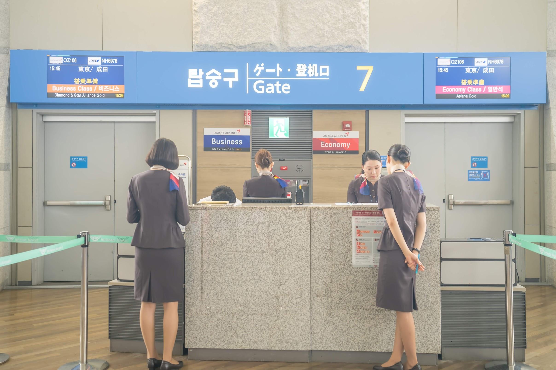 仁川国際空港 アシアナ航空1