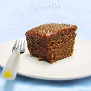 English Gingerbread Cake.