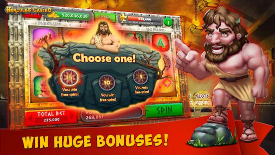 Hercules Casino: Vegas Slots - náhled