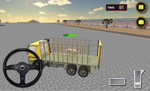 farma zvěř na převoz kamion - náhled