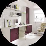Home Office Design Icon