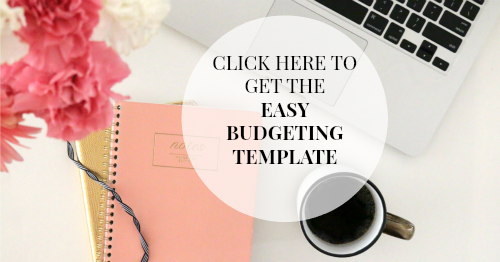 Easy Budgeting Template to Get Out of Debt