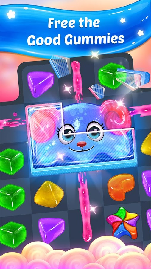 Gummy Paradise -  Free Match 3 Puzzle Game- screenshot