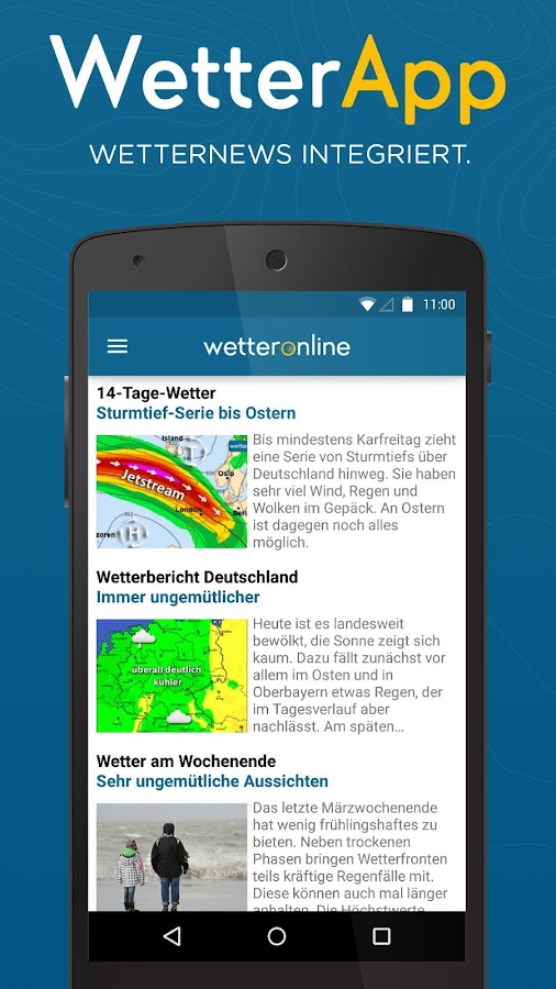 online wetter app