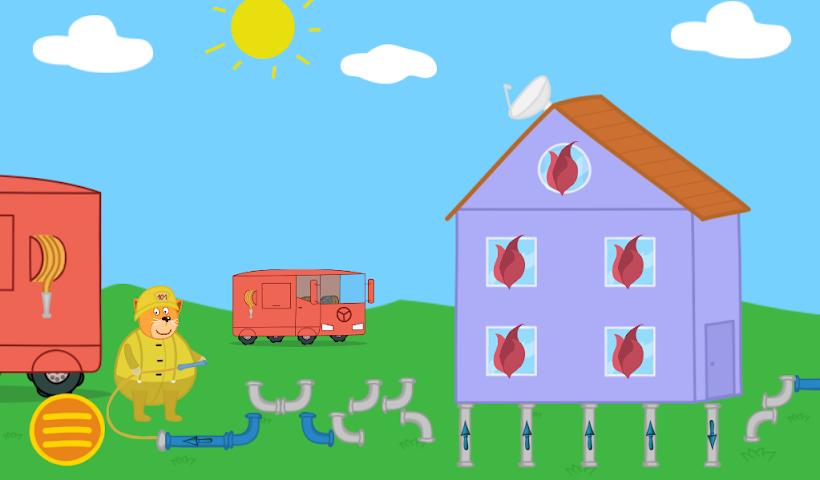 android Professions. Kindergarten 2 Screenshot 1