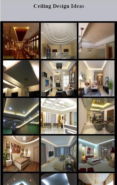 Ceiling Design Ideas 2017- screenshot