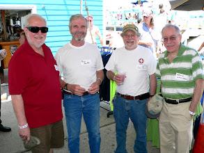 Photo: Ed Wilkens, Rick Peebles, Neil Brutman, Bruce Gayliard