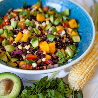 Black Bean and Mango Salad Recipe