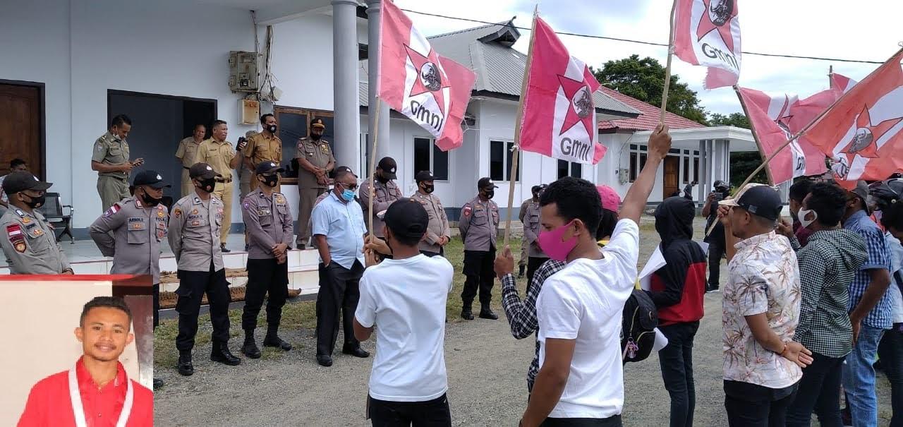 Demo Kuota CPNS Jilid II : Ketua DPRD Maluku Barat Daya Takut Bertemu Massa Aksi