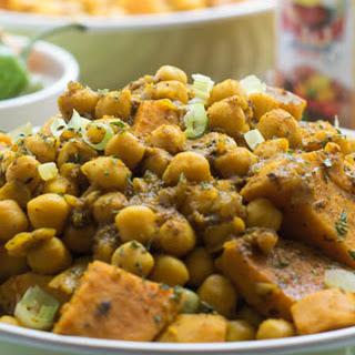 Trinidadian Chickpea and Sweet Potato Curry [Vegan]