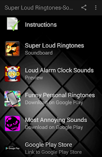 Super Loud Ringtones-Sounds - Android Apps on Google Play