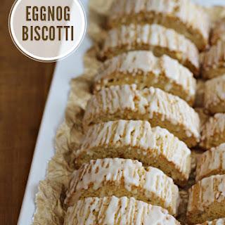 Eggnog Biscotti