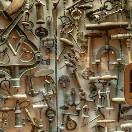 Armada by Bogdan Rusu - Artistic Objects Other Objects ( lots, glasswindow, corkscrew, antique, wien )