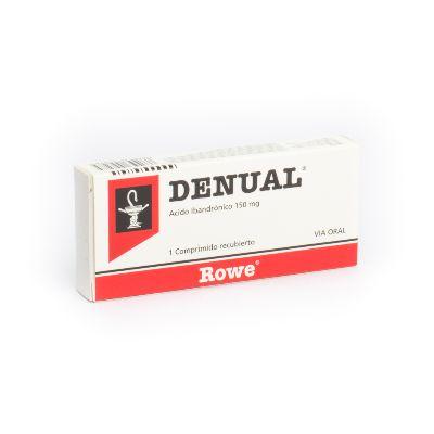 Acido Ibandronico Denual 150 Mg X 1 Comprimido Rowe 150 mg x 1 Comprimido