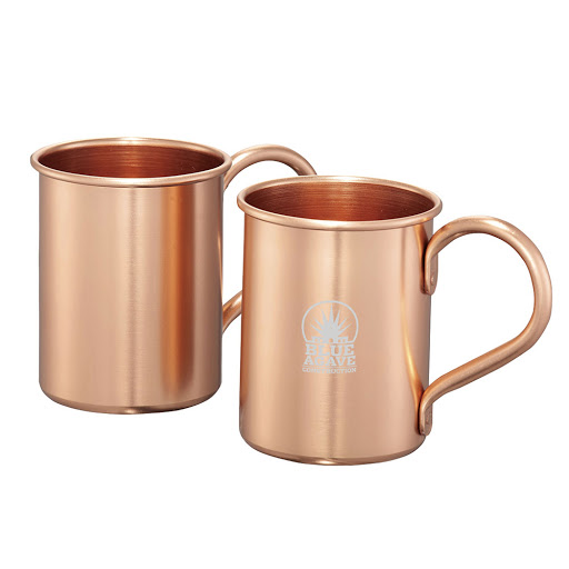 Copper Cocktail Mugs