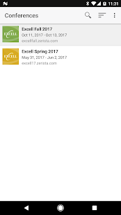 Excell Conferences- screenshot thumbnail