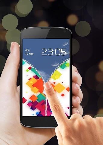 android Zipper Screen Lock 2016 Screenshot 2